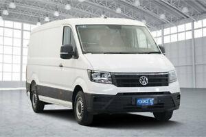 2018 Volkswagen Crafter SY1 MY19 35 MWB FWD TDI340 Runner White 6 Speed Manual Van