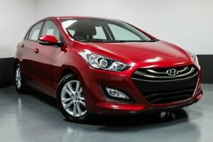 2013 Hyundai i30 GD2 MY14 Trophy Brilliant Red 6 Speed Sports Automatic Hatchback Hamilton East Newcastle Area Preview