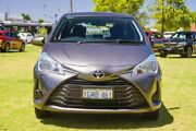 2018 Toyota Yaris NCP130R Ascent Grey 4 Speed Automatic Hatchback Burswood Victoria Park Area Preview