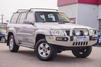 2011 Nissan Patrol GU 7 MY10 ST Silver 4 Speed Automatic Wagon Myaree Melville Area Preview