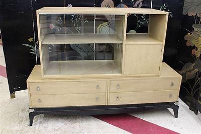 Vintage 50's Modern Room Divider Cabinet Renzo Rutili for Johnson Co Eames Era