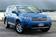 2013 Toyota Kluger GSU40R MY12 KX-R 2WD Blue 5 Speed Sports Automatic Wagon Portsmith Cairns City Preview