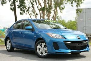 2012 Mazda 3 BL10F2 Neo Blue 6 Speed Manual Sedan Bungalow Cairns City Preview