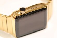 24K GOLD APPLE WATCH 42MM WITH LINK BRACELET 1 AVAILABLE Kellyville The Hills District Preview