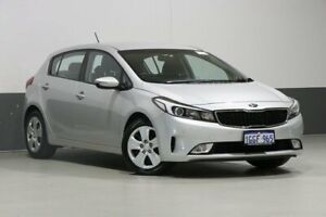 2017 Kia Cerato YD MY17 S Silver 6 Speed Auto Seq Sportshift Hatchback Bentley Canning Area Preview