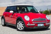 2002 Mini Hatch R50 Cooper Red 5 Speed Manual Hatchback Wangara Wanneroo Area Preview