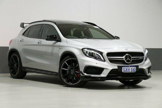 2017 Mercedes-AMG GLA 45 AMG 4MATIC X156 MY17 Silver 7 ...
