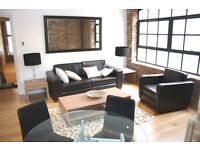 TWO BEDROOM WAREHOUSE APARTMENT FURNISHED WITH ALLOCATED PARKING GYM, TOWER BRIDGE SE1 BERMONDSEY