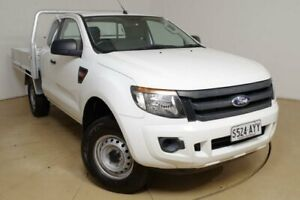 2013 Ford Ranger White Cab Chassis