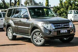 2014 Mitsubishi Pajero NW MY14 VR-X Bronze 5 Speed Sports Automatic Wagon