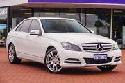 2013 Mercedes-Benz C250 CDI W204 MY13 Avantgarde 7G-Tronic + White 7 Speed Sports Automatic Sedan Victoria Park Victoria Park Area Preview