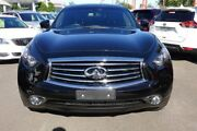2016 Infiniti QX70 S51 S Premium Black 7 Speed Sports Automatic Wagon Hoppers Crossing Wyndham Area Preview