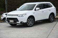 2014 Mitsubishi Outlander ZJ MY14.5 White 1 Speed Automatic Wagon Helensvale Gold Coast North Preview