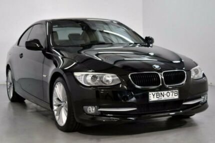 2013 BMW 320D E92 Black Sports Automatic Coupe