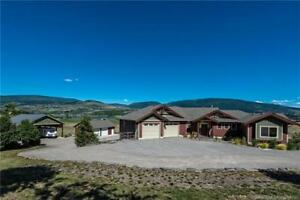 6325 Old Kamloops Rd, Vernon BC - Custom Built on 12.86 Acres!