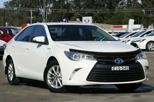 2017 Toyota Camry AVV50R MY16 Altise Hybrid White Continuous Variable Sedan Wyong Wyong Area Preview
