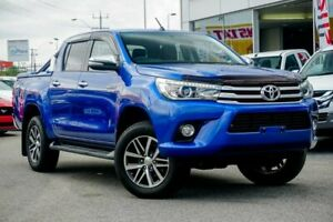 2016 Toyota Hilux GUN126R SR5 Extra Cab Blue 6 Speed Manual Utility