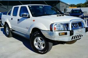 2014 Nissan Navara D22 S5 ST-R White 5 Speed Manual Utility Pearce Woden Valley Preview