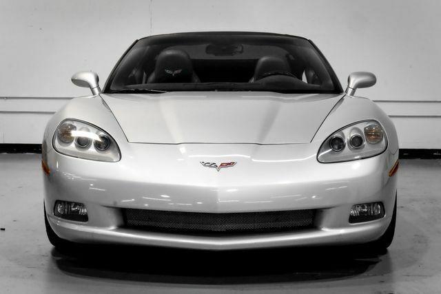2008 Silver Chevrolet Corvette Coupe  | C6 Corvette Photo 4