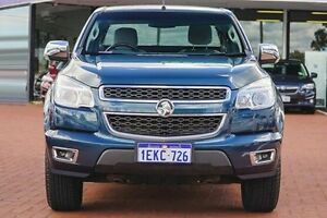 2013 Holden Colorado RG MY14 LTZ Space Cab Blue 6 Speed Manual Utility