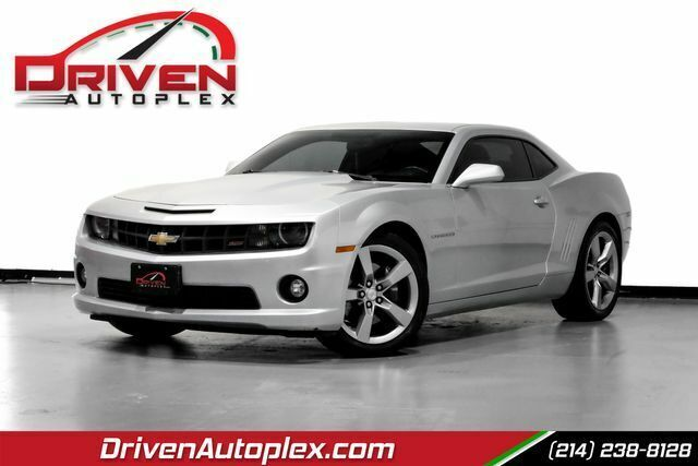 Silver Chevrolet Camaro with 129532 Miles available now!