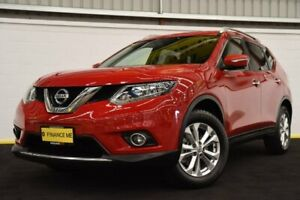 2015 Nissan X-Trail T32 ST-L X-tronic 2WD Red/Black 7 Speed Constant Variable Wagon