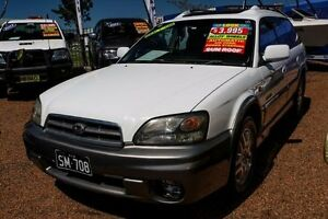 2002 Subaru Outback Gen 3 Limited Wagon 4dr Auto 4sp AWD 2.5i White Automatic Wagon Minchinbury Blacktown Area Preview