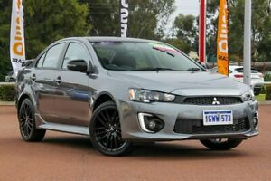 2017 Mitsubishi Lancer CF MY17 Black Edition Titanium 6 Speed Constant Variable Sedan