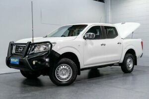 2015 Nissan Navara NP300 D23 RX (4x4) White 7 Speed Automatic Double Cab Utility Woodridge Logan Area Preview