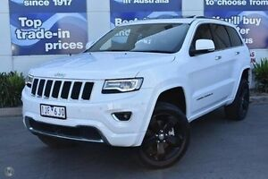 2013 Jeep Grand Cherokee WK MY2014 Overland White 8 Speed Sports Automatic Wagon Epping Whittlesea Area Preview