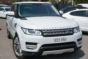 2015 Land Rover Range Rover Sport L494 15.5MY SDV6 HSE White 8 Speed Sports Automatic Wagon