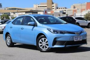 2019 Toyota Corolla ZRE172R Ascent S-CVT Blue 7 Speed Constant Variable Sedan Northbridge Perth City Area Preview