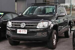 2015 Volkswagen Amarok 2H MY15 TDI420 4x2 Black 8 Speed Automatic Cab Chassis Capalaba Brisbane South East Preview