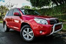 2006 Toyota RAV4 ACA33R Cruiser Red 4 Speed Automatic Wagon Medindie Walkerville Area Preview