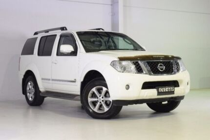2011 Nissan Pathfinder R51 MY10 Ti 550 White 7 Speed Sports Automatic Wagon Wadalba Wyong Area Preview