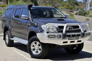2010 Toyota Hilux KUN26R MY10 SR5 Grey 5 Speed Manual Utility Lisarow Gosford Area Preview
