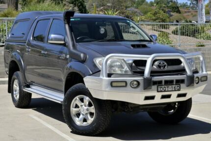 2010 Toyota Hilux KUN26R MY10 SR5 Grey 5 Speed Manual Utility
