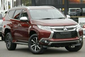 2018 Mitsubishi Pajero Sport QE MY18 GLS Red 8 Speed Sports Automatic Wagon Nunawading Whitehorse Area Preview