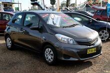 2014 Toyota Yaris NCP130R YR Grey 4 Speed Automatic Hatchback Minchinbury Blacktown Area Preview