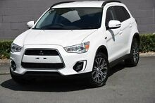 2015 Mitsubishi ASX XB MY15 LS 2WD White 6 Speed Constant Variable Wagon Main Beach Gold Coast City Preview