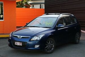 2012 Hyundai i30 FD MY11 SX cw Wagon Blue 4 Speed Automatic Wagon Greenslopes Brisbane South West Preview