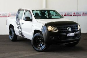 2014 Volkswagen Amarok 2H MY13 TDI420 (4x4) White 8 Speed Automatic Dual Cab Utility Rockingham Rockingham Area Preview