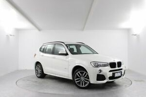 2017 BMW X3 F25 LCI xDrive20i Steptronic White 8 Speed Automatic Wagon Launceston Launceston Area Preview