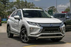 2018 Mitsubishi Eclipse Cross YA MY18 LS 2WD White 8 Speed Constant Variable Wagon Aspley Brisbane North East Preview