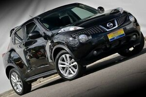 2014 Nissan Juke F15 MY14 Ti-S AWD Black 1 Speed Constant Variable Hatchback Ferntree Gully Knox Area Preview