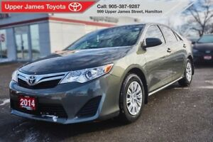 2014 Toyota Camry LE Value Pkg - Low kilometres.