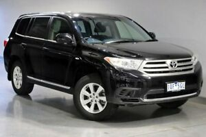 2013 Toyota Kluger GSU40R KX-R Black Sports Automatic South Morang Whittlesea Area Preview