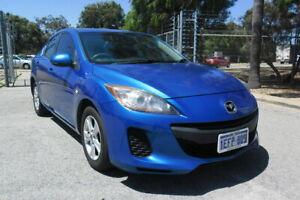 2013 Mazda 3 BL Series 2 MY13 Neo Blue 6 Speed Manual Sedan East Rockingham Rockingham Area Preview