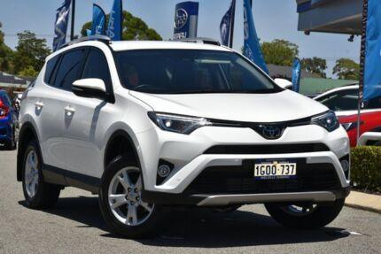 2018 Toyota RAV4 ASA44R GX AWD White 6 Speed Sports Automatic Wagon Willagee Melville Area Preview