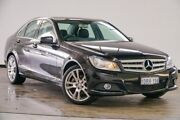 2011 Mercedes-Benz C250 W204 MY11 BlueEFFICIENCY 7G-Tronic + Avantgarde Black 7 Speed Myaree Melville Area Preview